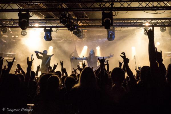 Konzertfoto von Moonsorrow auf Hetahen Crusade 2018 in Ludwigsburg