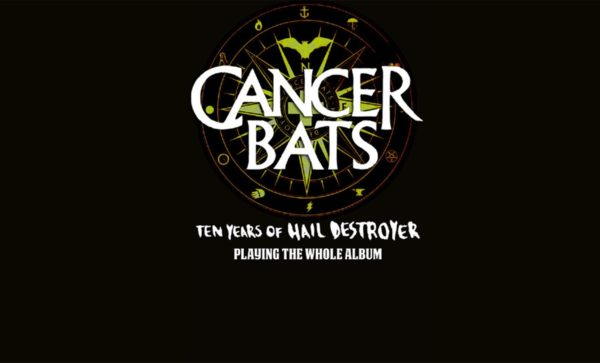 Tourplakat CANCER BATS 2018