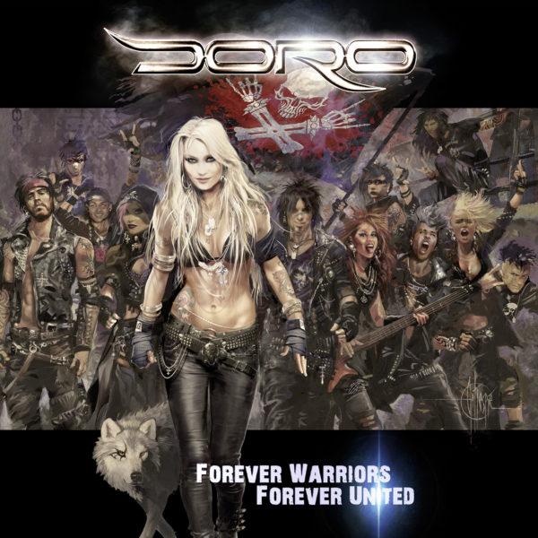 Doro - Forever Warriors, Forever United (Albumcover)