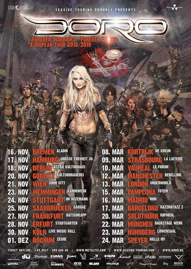 Doro European Tour 2018/19