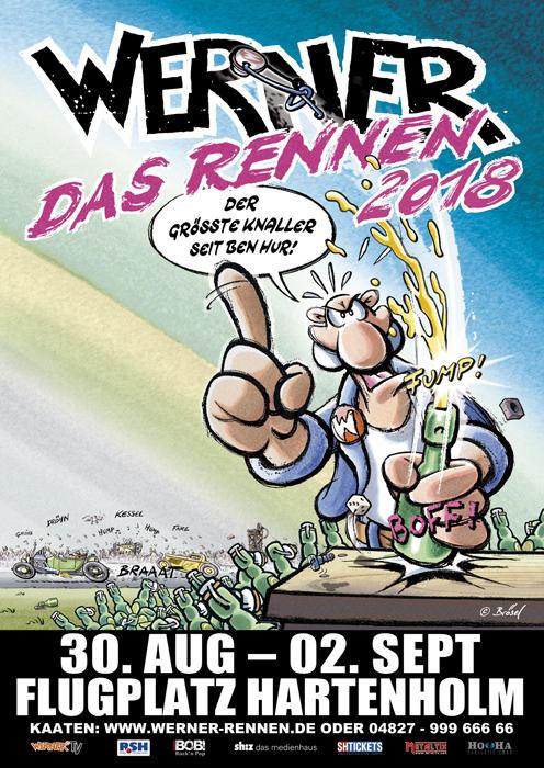 Plakat zu Werner - Das Rennen