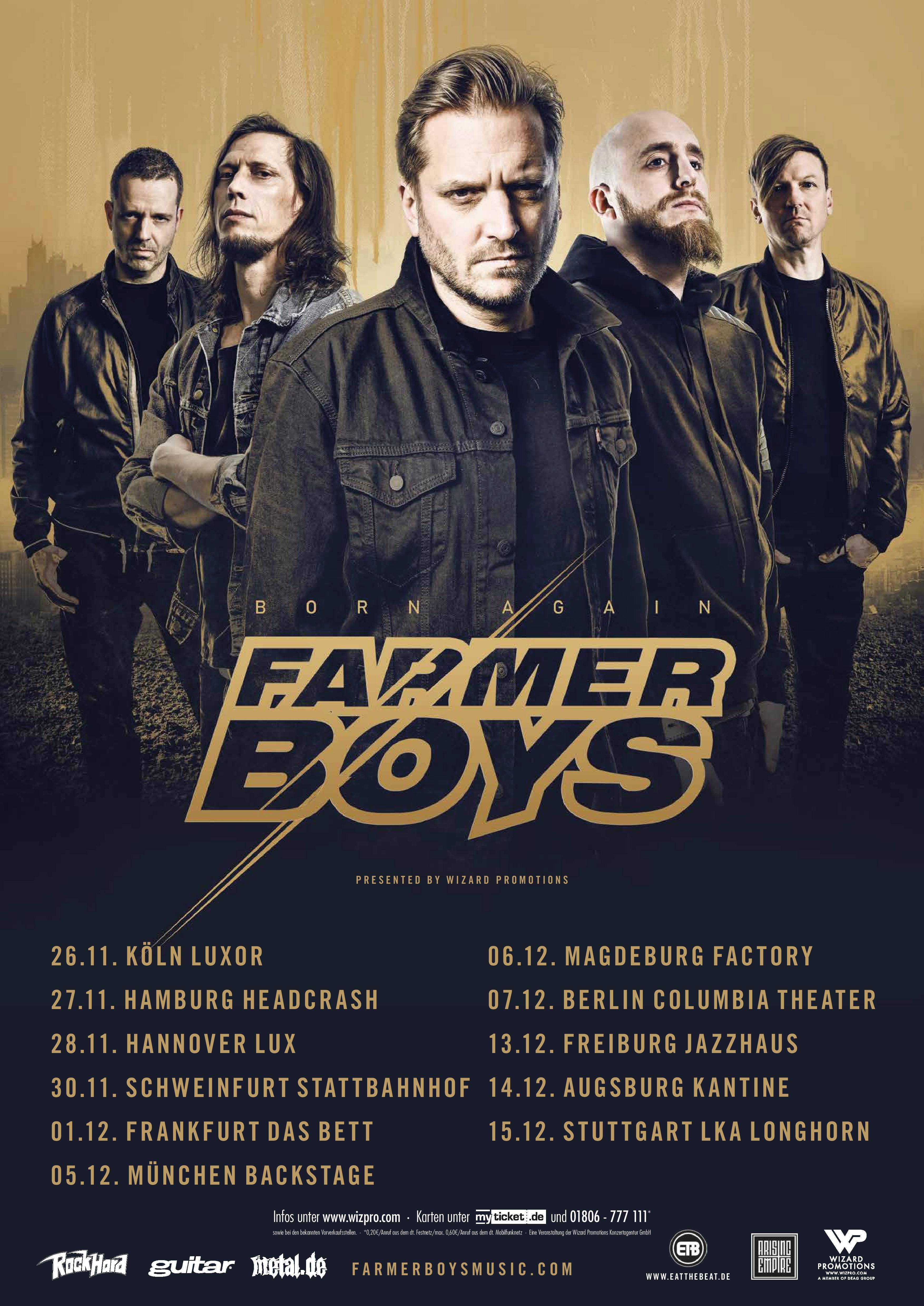 Bild Farmer Boys - Born Again Tour 2018 Flyer