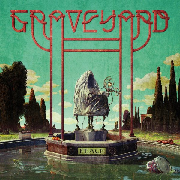 """Cover Artwork von """"Peace"""" der schwedischen Rock Band GRAVEYARD"""