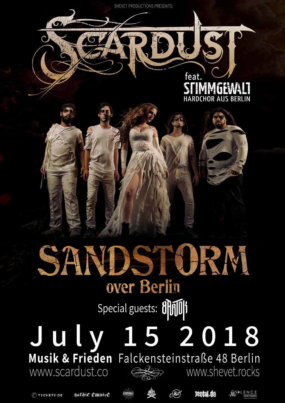 Bild Scardust - Sandstorm Over Berlin Poster