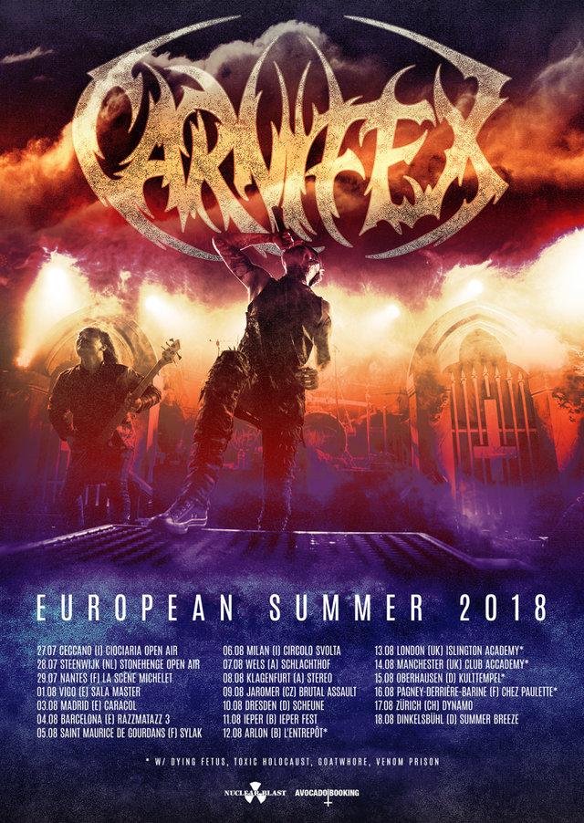 Carnifex - European Summer 2018
