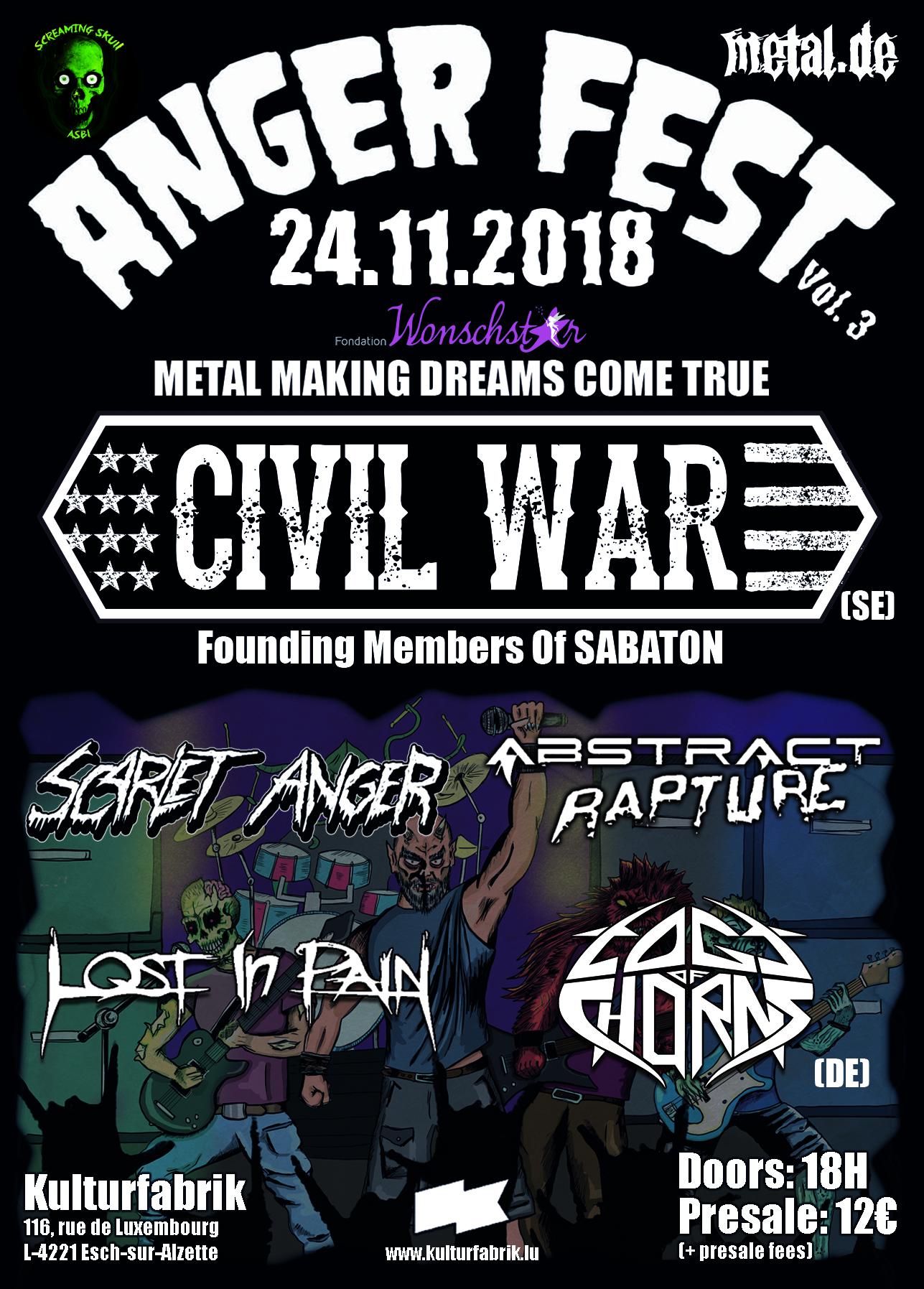 Anger Fest 2018 Final