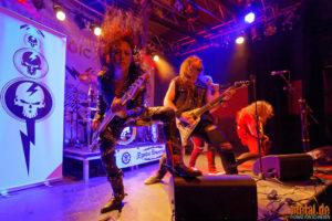 Fotos von Mystic Prophecy auf der Tour 2018 - Rüsselsheim