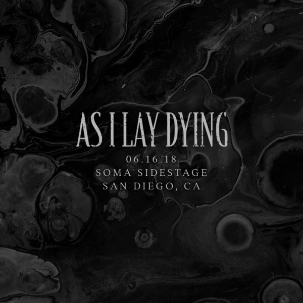 As I Lay Dying - Show Anouncement
