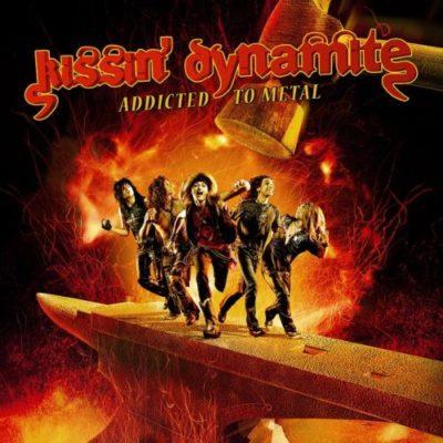 Bild: Kissin' Dynamite - Addicted To Metal (Artwork)