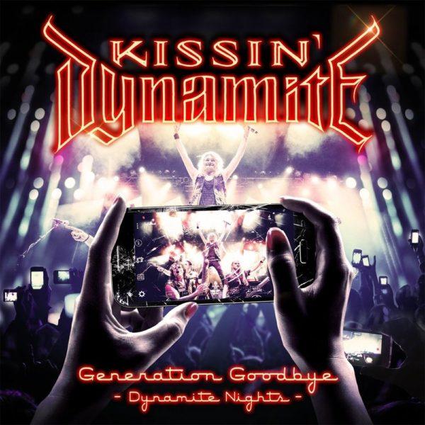 Bild: Kissin' Dynamite - Generation Goodbye: Dynamite Nights (Artwork)