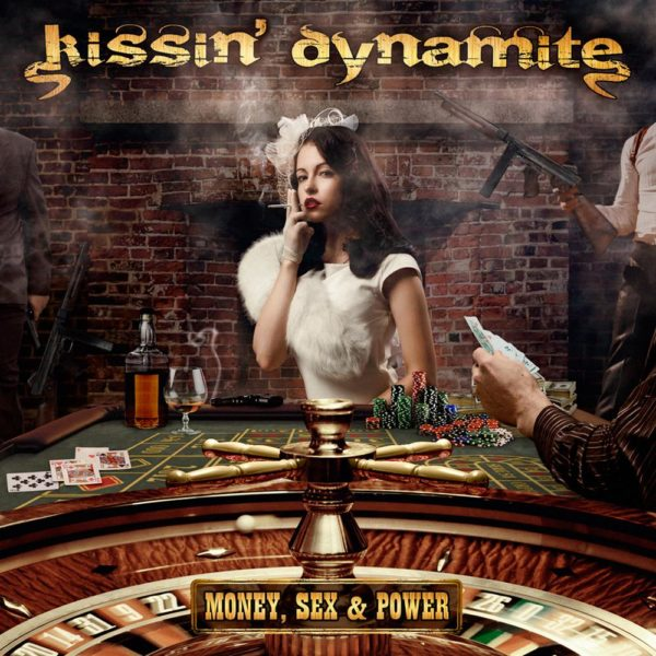 Bild: Kissin' Dynamite - Money, Sex & Power (Artwork)