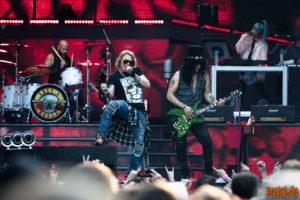 Konzertfoto von Axl Rose und Slash bei der Guns N' Roses - Not In This Lifetime Tour 2018