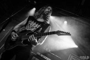 Konzertfotos von Knocked Loose auf der Death Dealers European Tour 2018