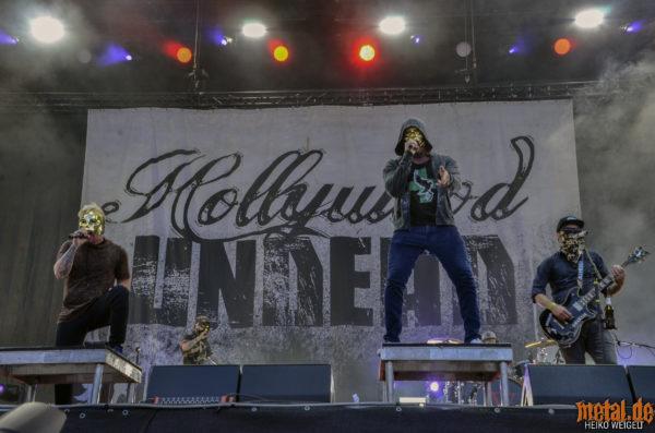 Hollywood Undead - Rock im Park 2018