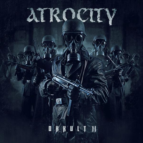 "Cover Artwork des ATROCITY Albums ""Okkult II"""