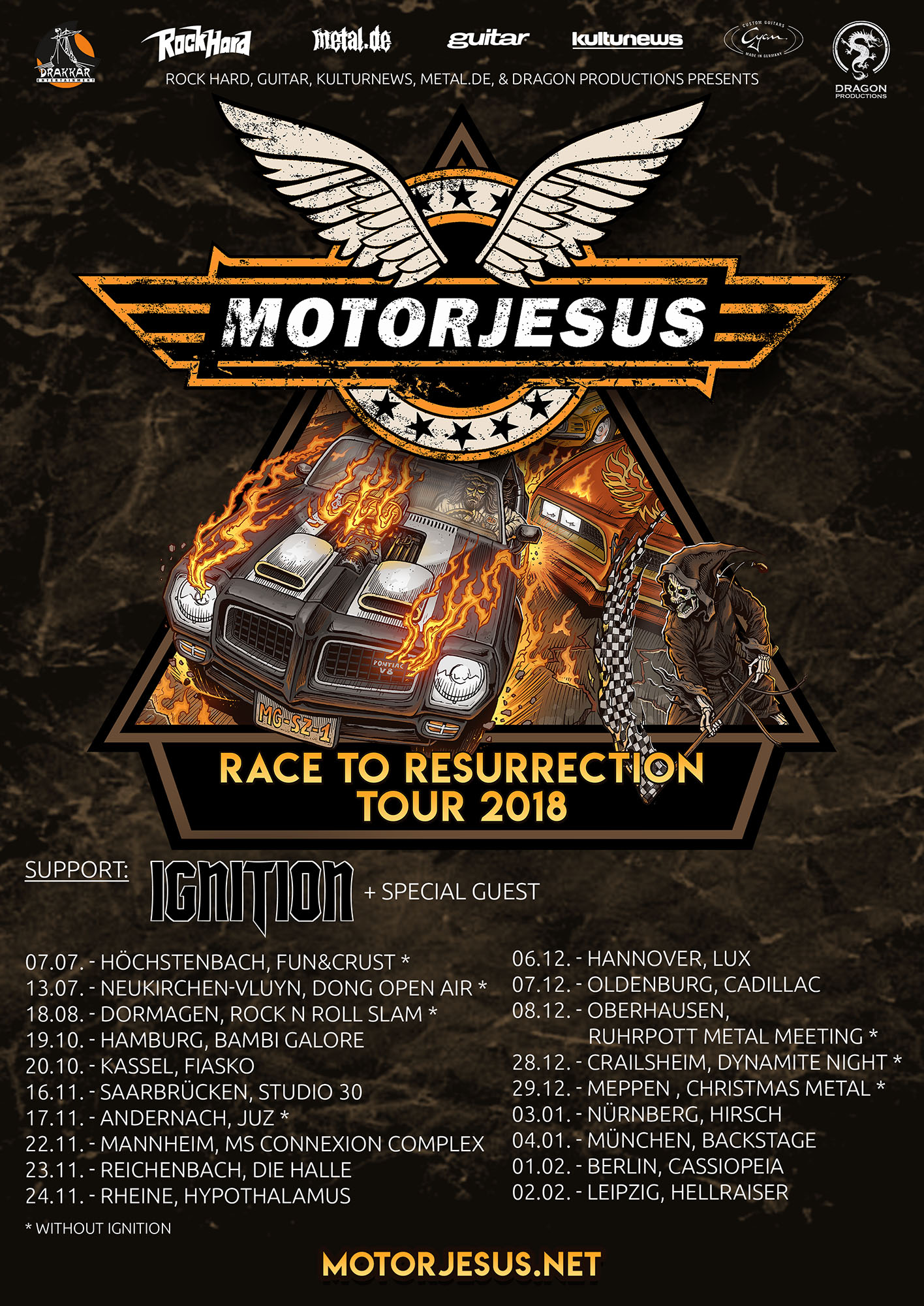 Bild Motorjesus - Race To Ressurection Tour 2018