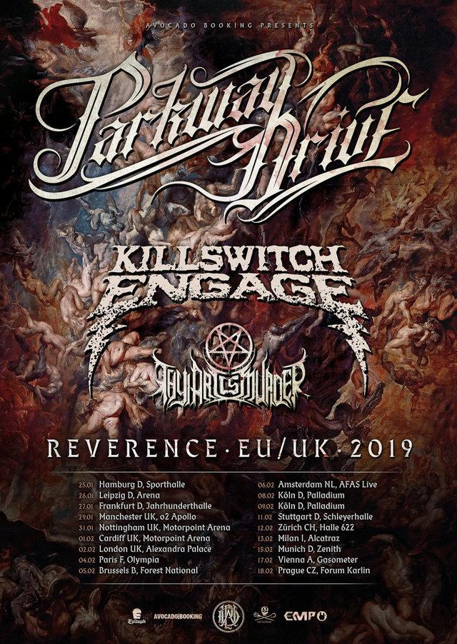 Parkway Drive - Reverence Tour 2019: