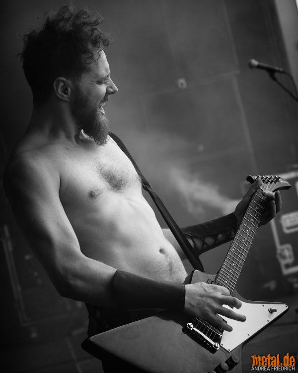 Konzertfoto von Skálmöld beim Rockharz Festival 2018