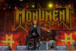 Konzertfoto von Monument beim Rockharz Festival 2018
