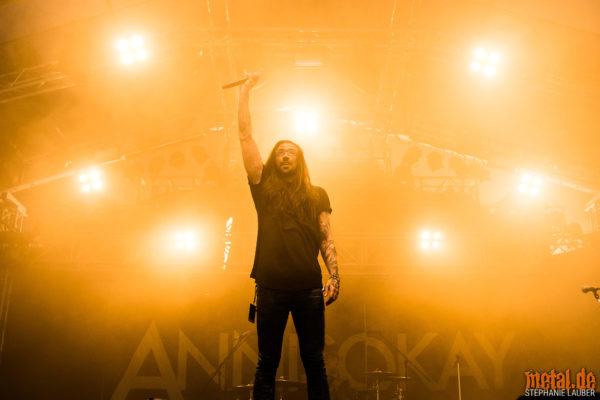 Konzertfoto von Annisokay auf dem Rock am Haertsfeldsee 2018