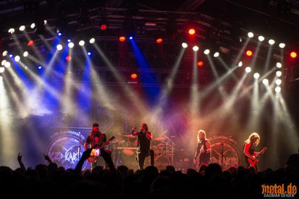 Konzertfoto von Iced Earth beim Rock am Härtsfeldsee 2018