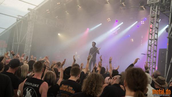Konzertfoto von Lord Of The Lost berim Rock am Härtsfeldsee 2018