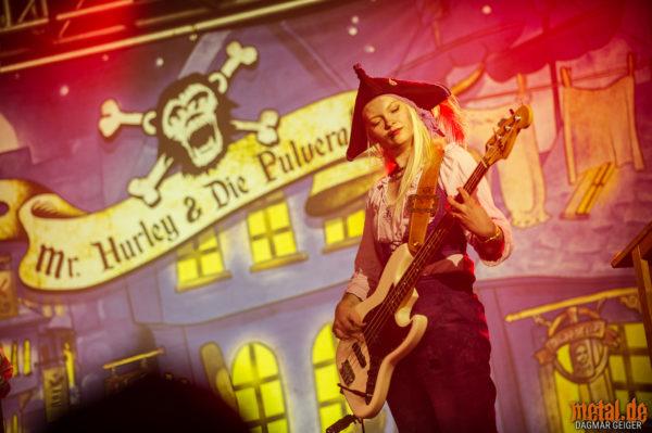 Konzert von Mr. Hurley & Die Pulveraffen beim Rock am Härtsfeldsee 2018