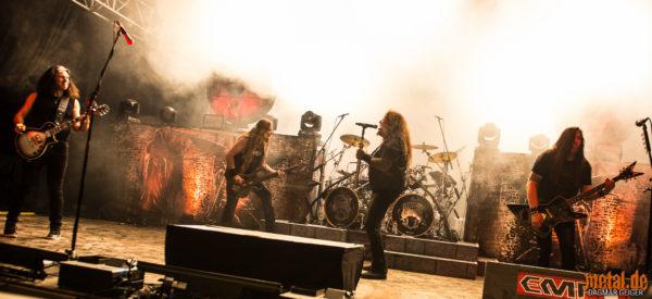 Konzertfoto von Testament beim Rock am Härtsfeldsee 2018