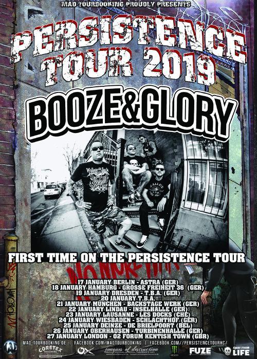 Booze & Glory - Live 2019