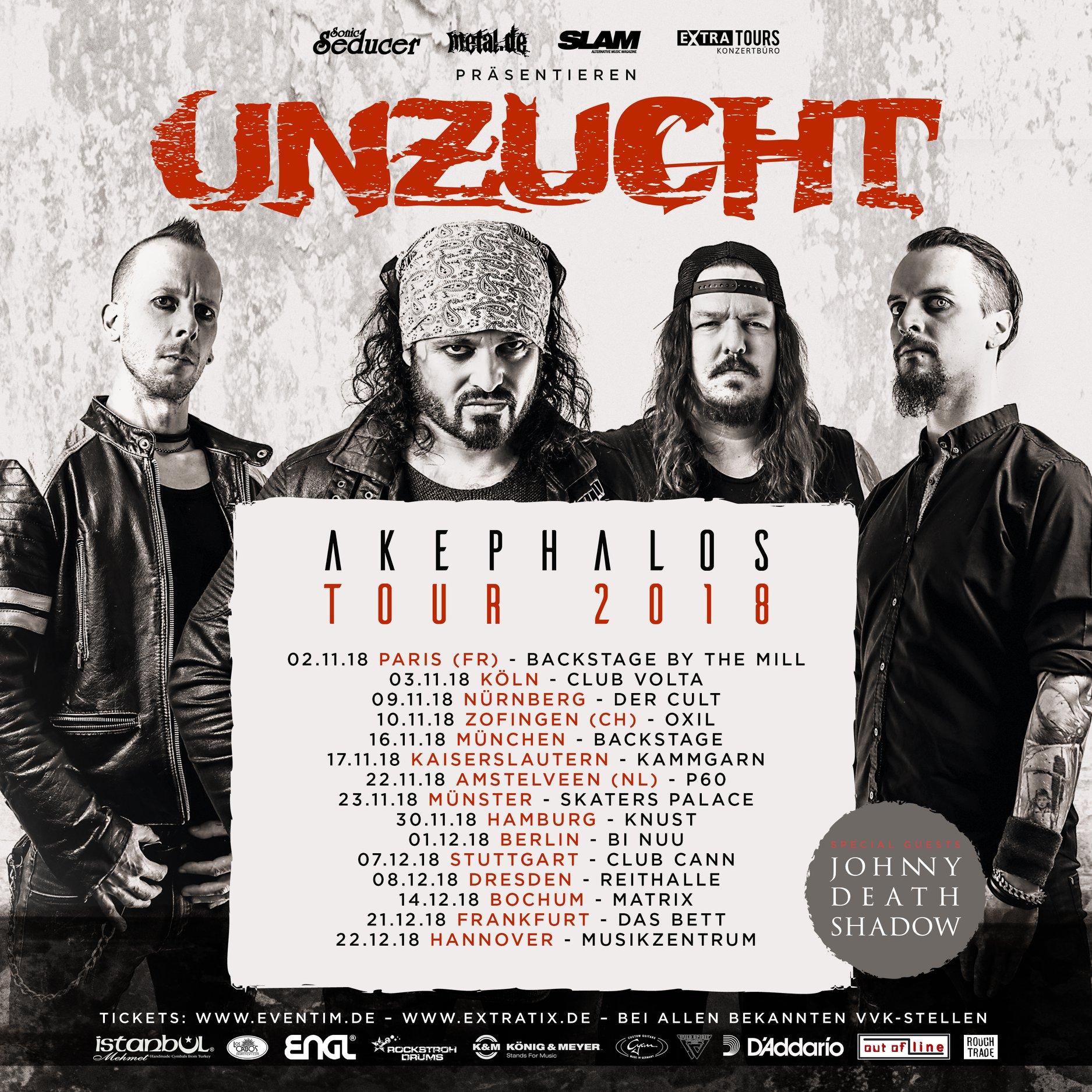 Unzucht - Akephalos Tour 2018