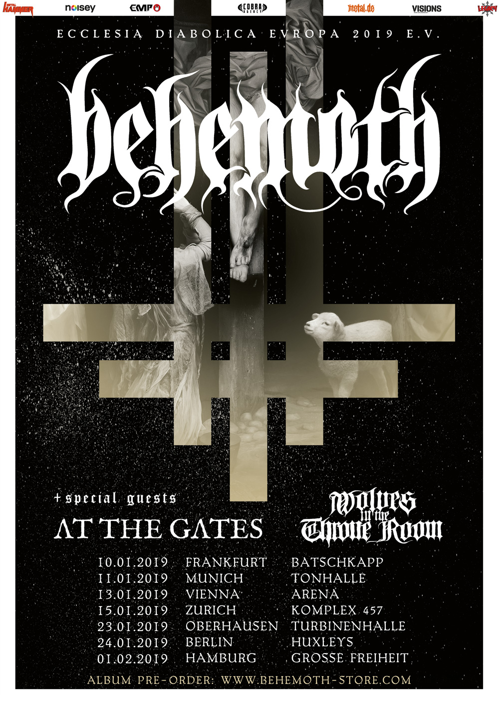 Behemoth Tour 2019