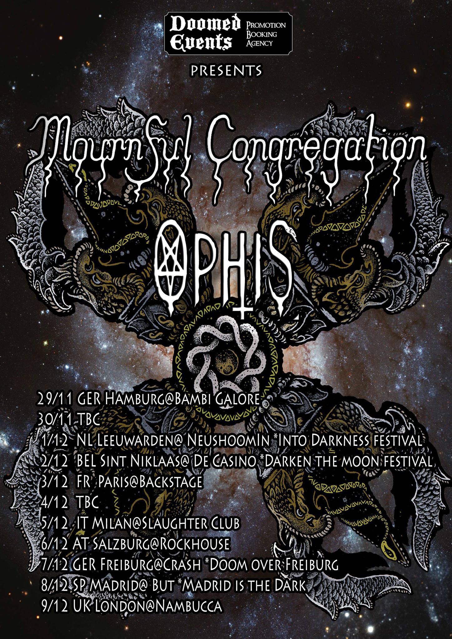 Mournful Congregation - Wintertour 2018