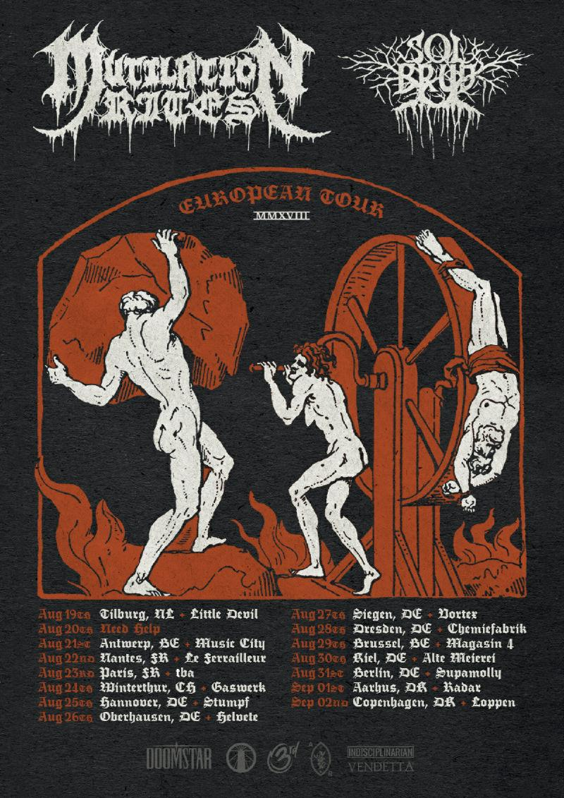 Mutilation Rites - Tour 2018
