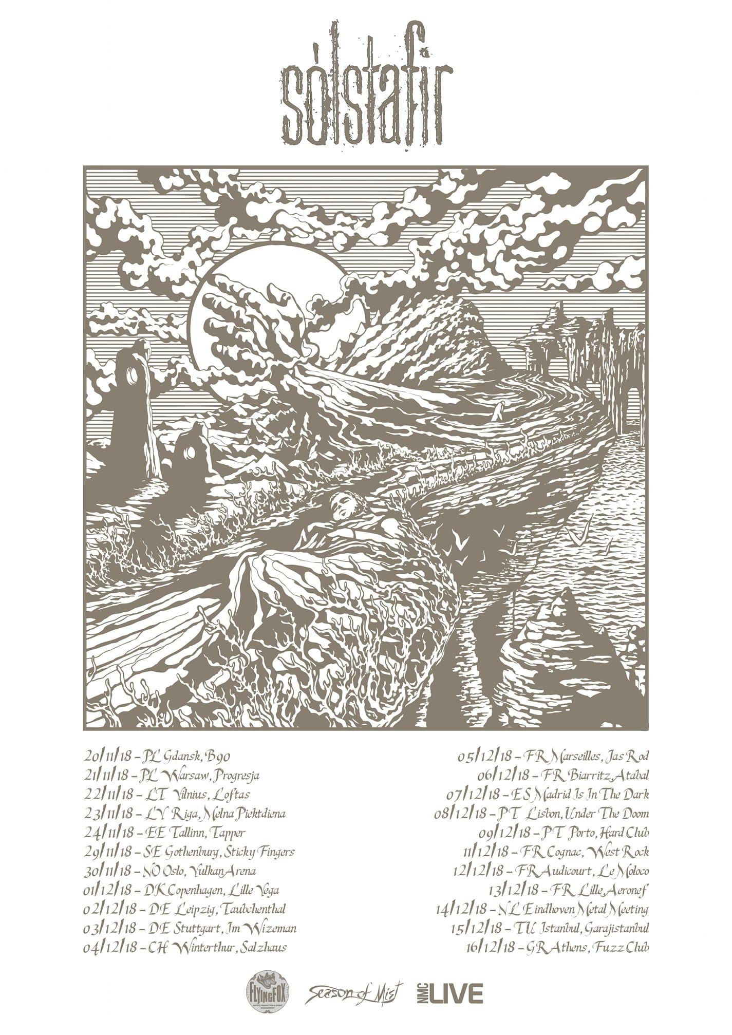 Solstafir - Tour 2018