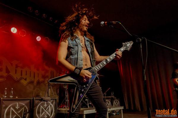 Fotos von Night Demon auf der Tour 2018