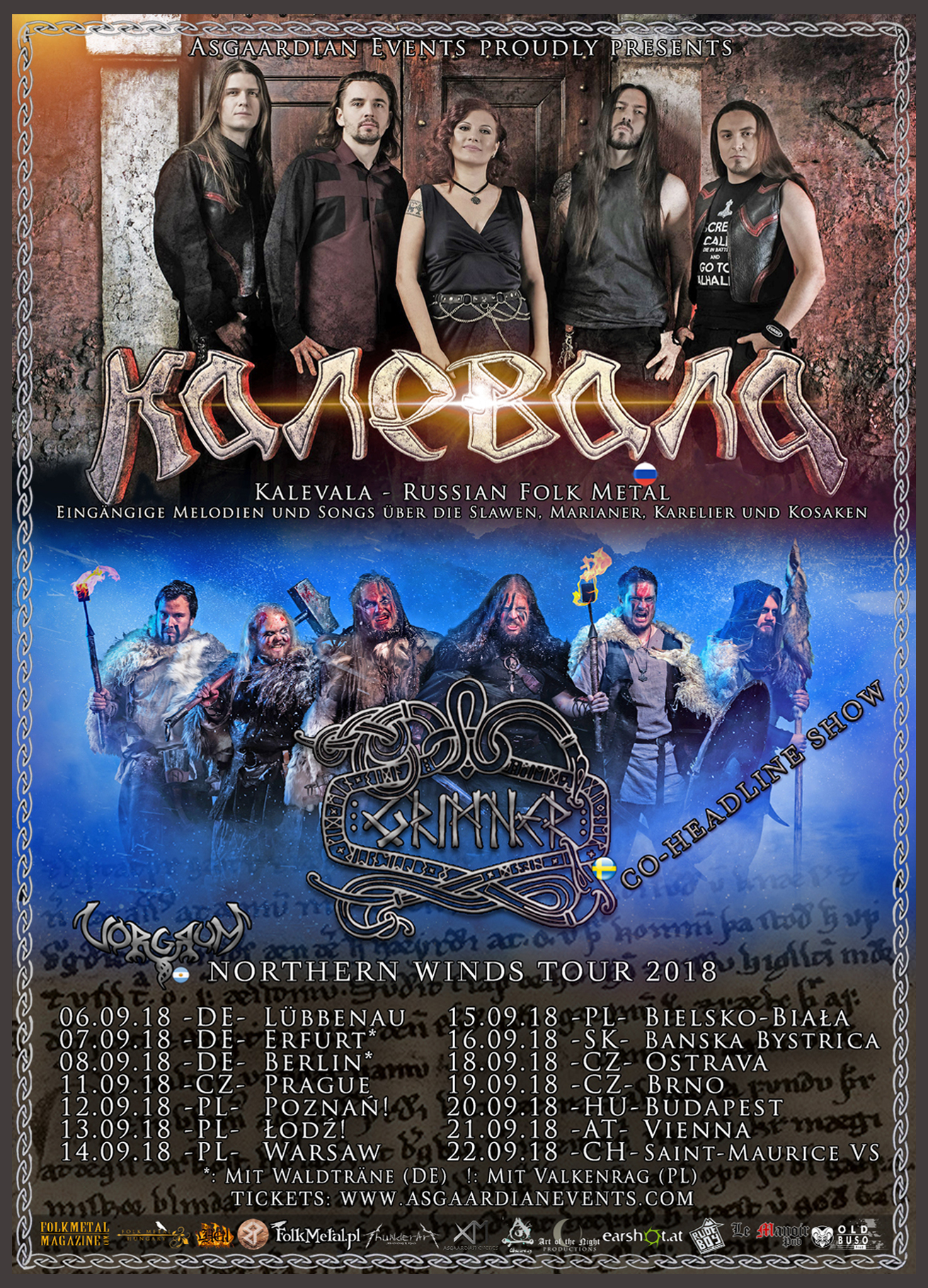 Kalevala - Northern Winds Tour 2018