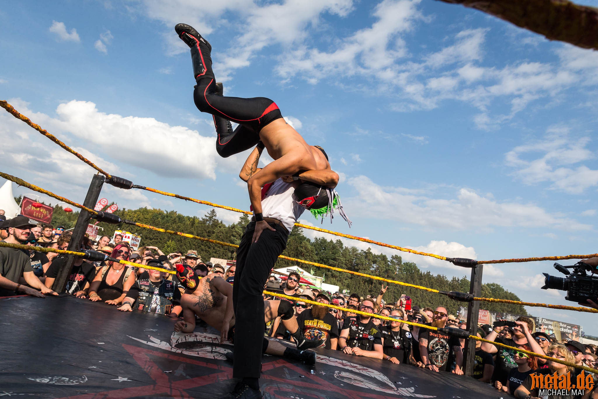 The Rock n Roll Wrestling Bash auf dem Summer Breeze Open Air 20