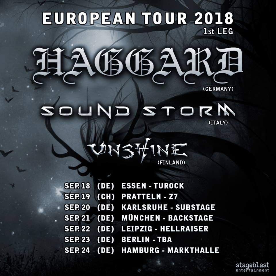 Haggard - Bards of Symphony and Metal Tour 2018