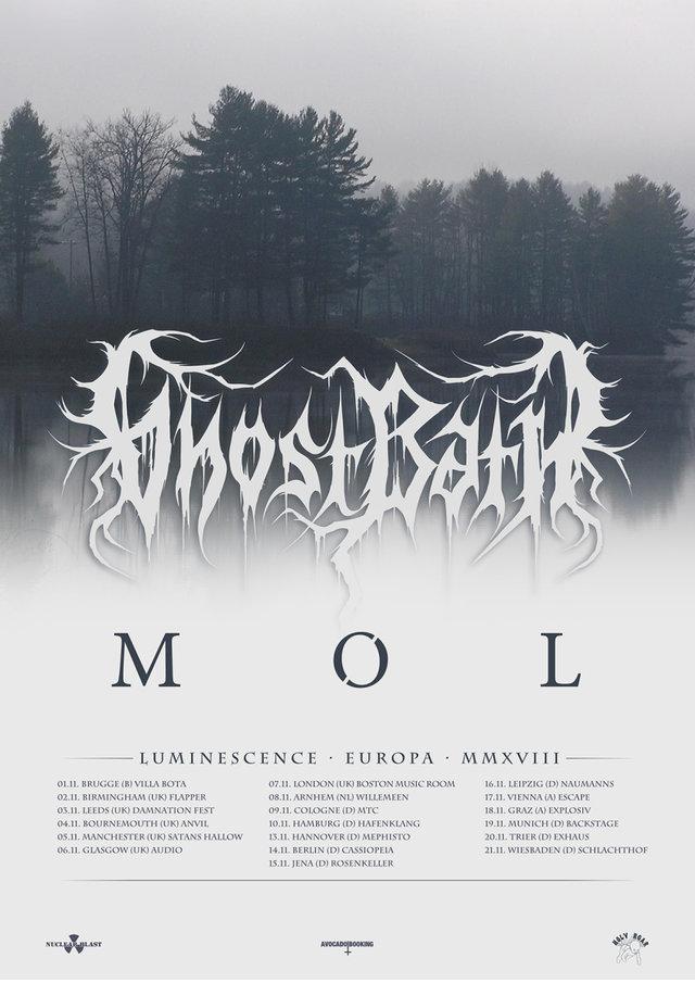 Ghost Bath - Luminescence · Europa · MMXVIII