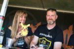 Foto von der Autogrammstunde mit Schandmaul auf dem Summer Breeze Open Air 2018