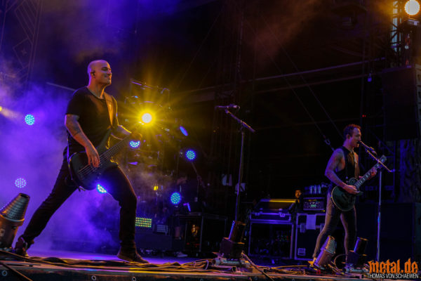 Trivium auf dem Summer Breeze 2018