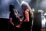 Konzertfoto von DevilDriver beim Spirit in Black 2018