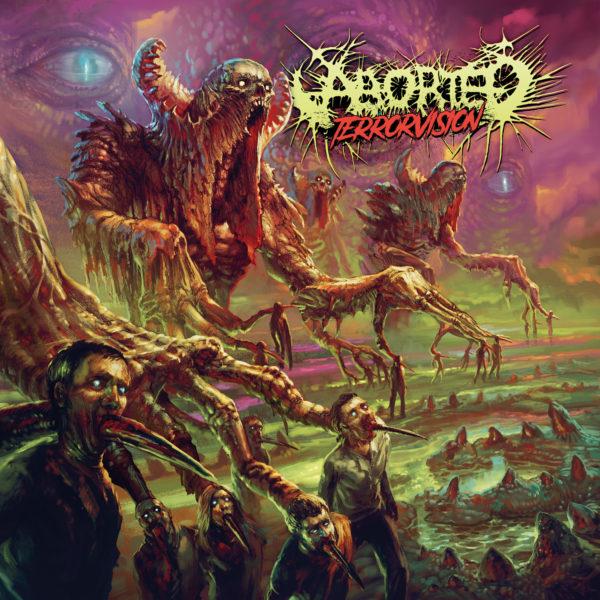 Cover Artwork Aborted TerrorVision Album 2018