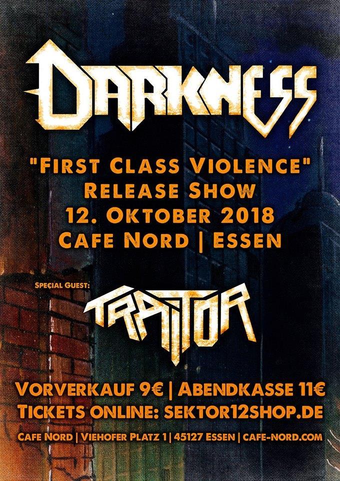 "Bild: Darkness ""First Class Violence""-Release-Show"