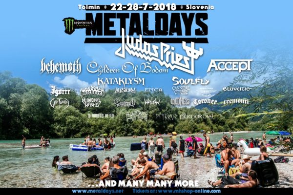 MetalDays 2018 - Flyer