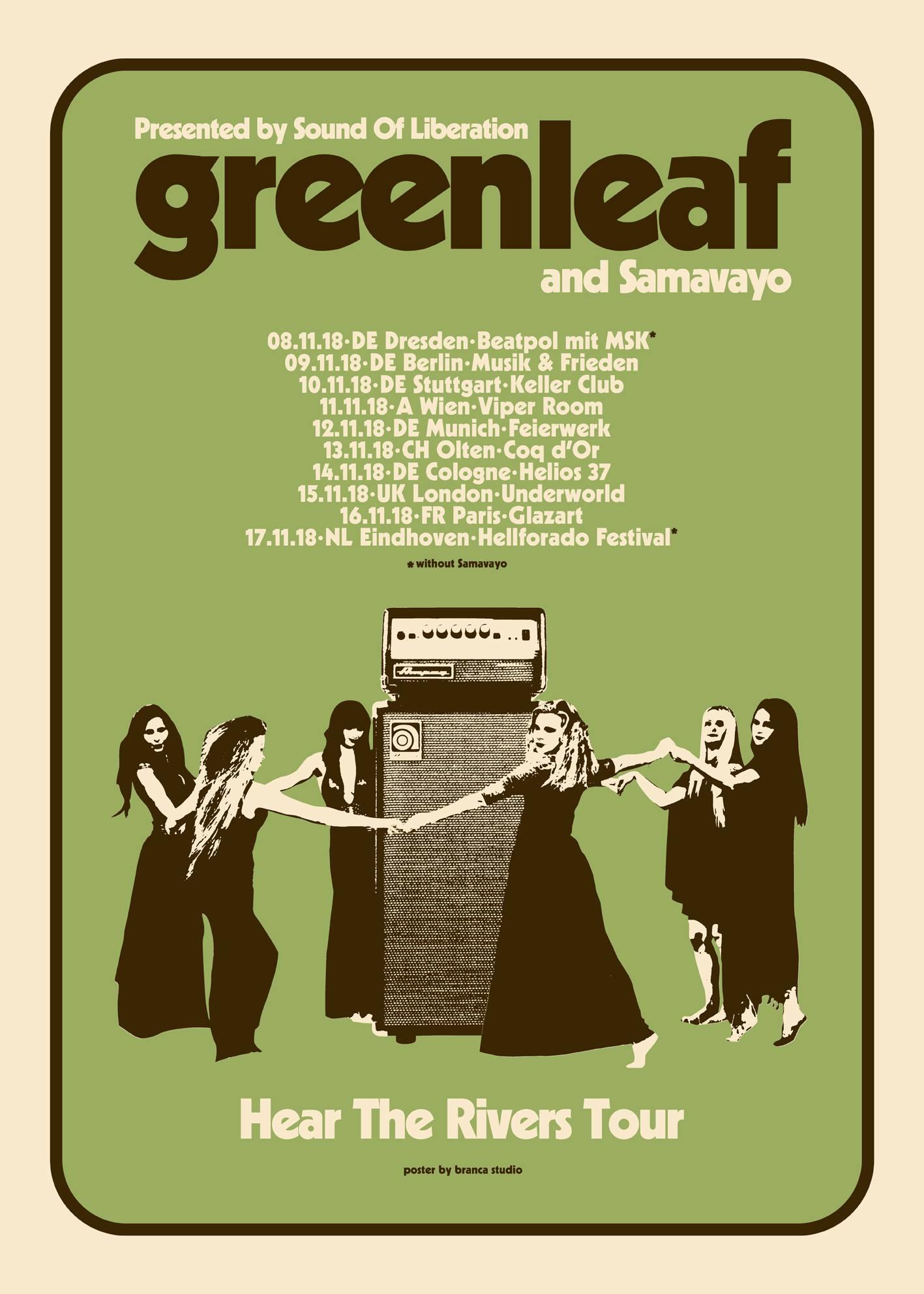 Greenleaf - Hear The Rivers Tour 2018