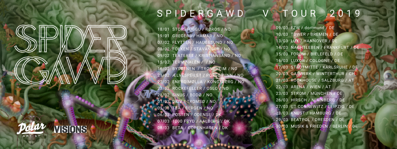 Spidergawd - Neues Album und Tour 2019