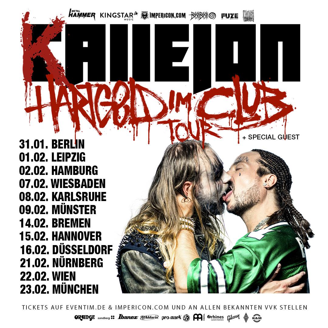Callejon - Hartgeld im Club Tour 2019