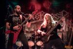 Konzertfoto von Bitterness beim Metal Café in Lörrach