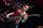 Konzertfoto von Let Me Fall beim Metal Café in Lörrach